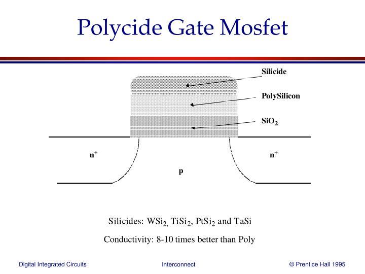 Polycide Gate Mosfet