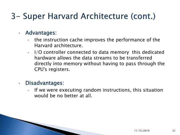 3- Super Harvard Architecture