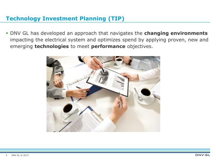 Technology Investment Planning (TIP)