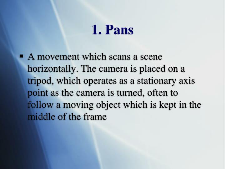 1. Pans