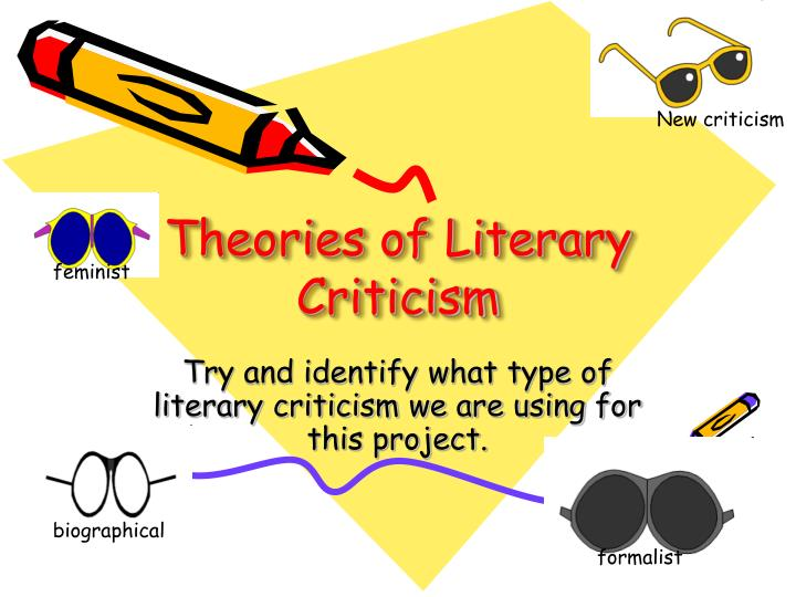 literary theory of new criticism essay New criticism: new criticism, post-world war i school of anglo-american literary critical theory that insisted on the intrinsic value of a work of art and focused.