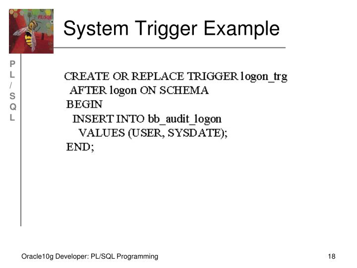 System Trigger Example