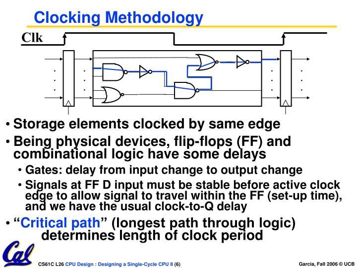 Clocking Methodology