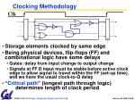 clocking methodology