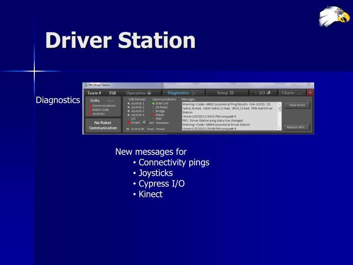 Driver Station
