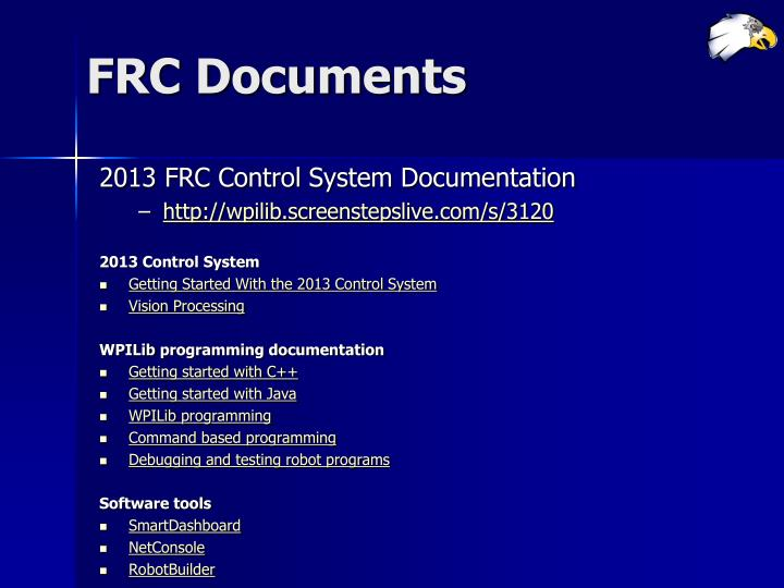 FRC Documents