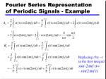 fourier series representation of periodic signals example1