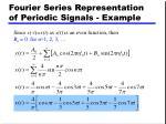 fourier series representation of periodic signals example2