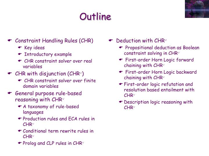 Constraint Handling Rules (CHR)