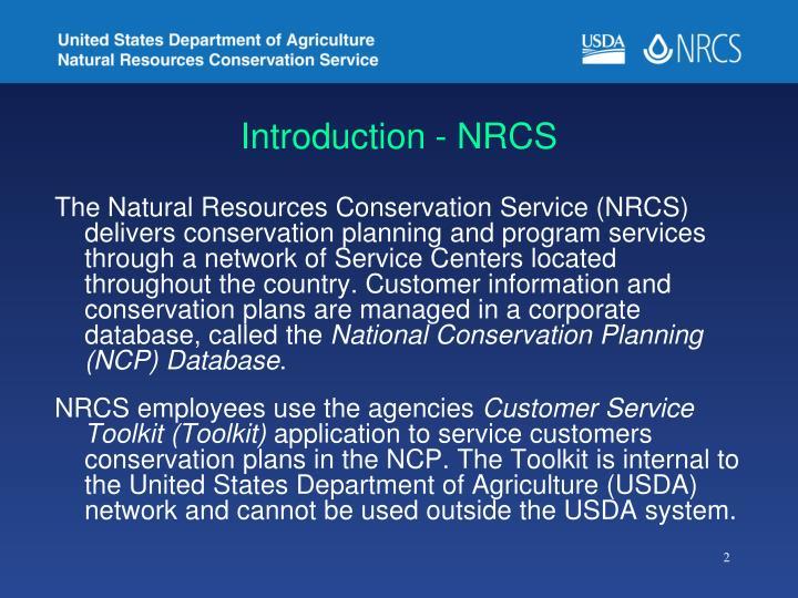 Introduction - NRCS