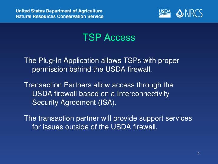 TSP Access