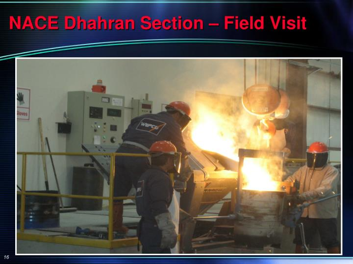 NACE Dhahran Section – Field Visit