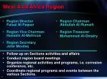 west asia africa region