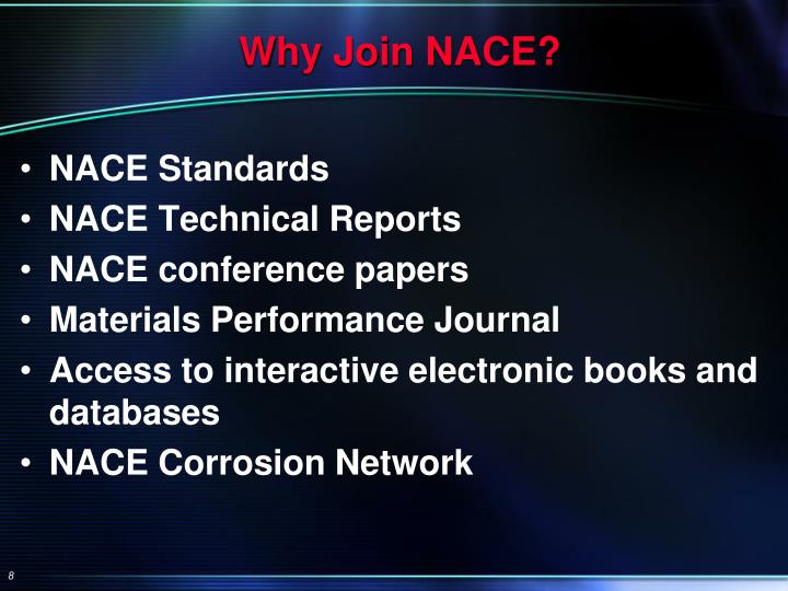 Why Join NACE?