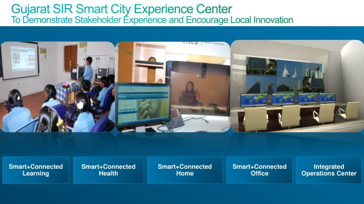 Gujarat SIR Smart City Experience Center