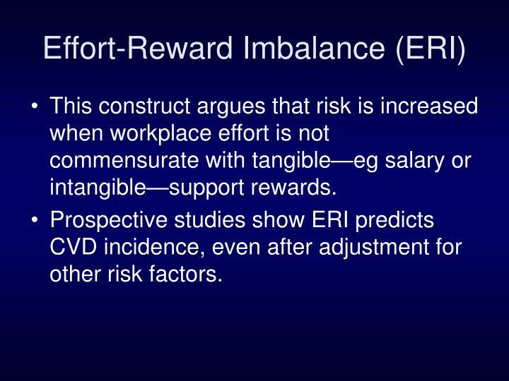 Effort-Reward Imbalance (ERI)