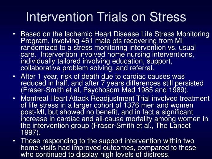 Intervention Trials on Stress