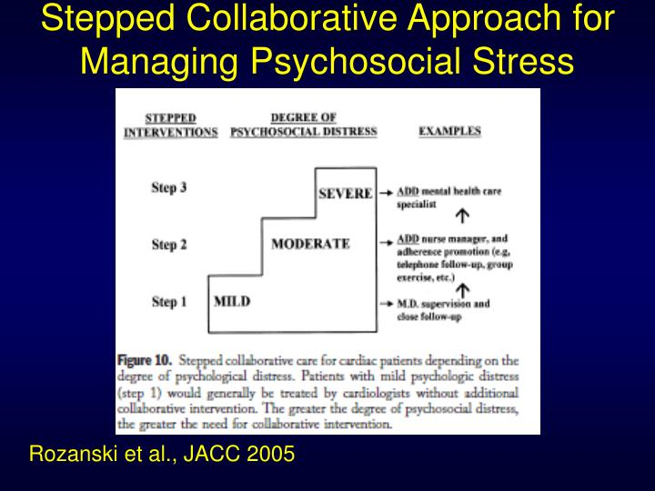 Stepped Collaborative Approach for Managing Psychosocial Stress