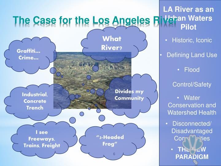 LA River as an Urban Waters Pilot