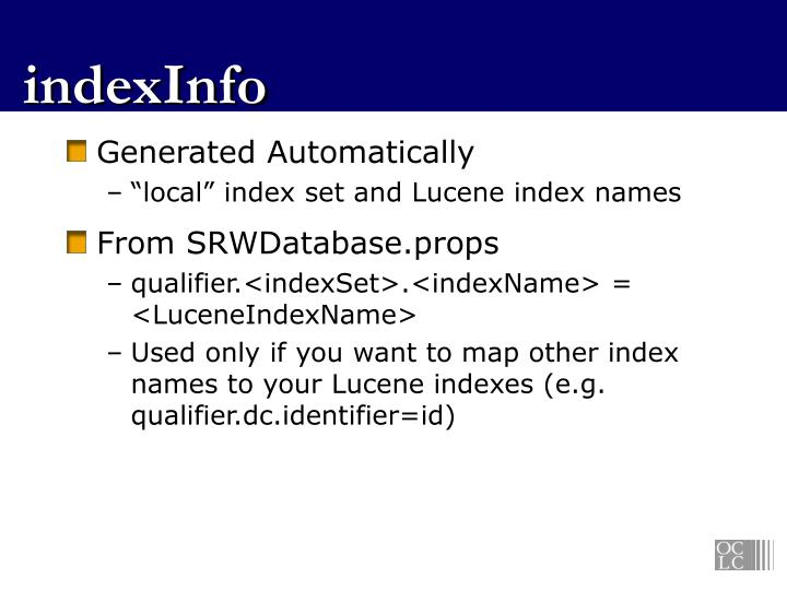indexInfo