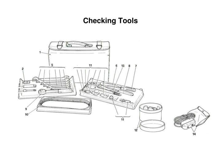 Checking Tools