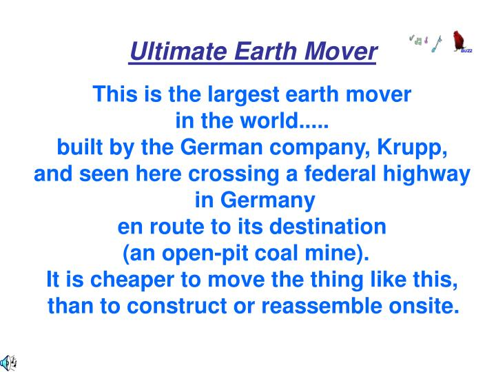 Ultimate Earth Mover