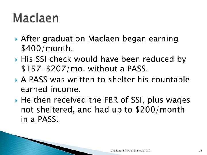 Maclaen