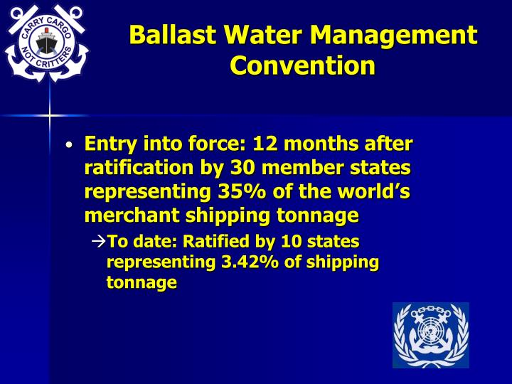 Ballast Water Management Convention