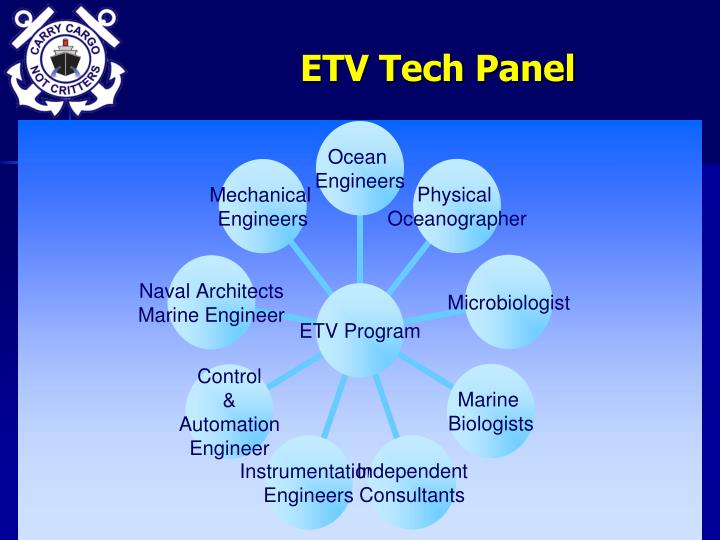 ETV Tech Panel