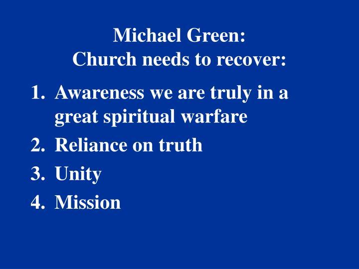 Michael Green: