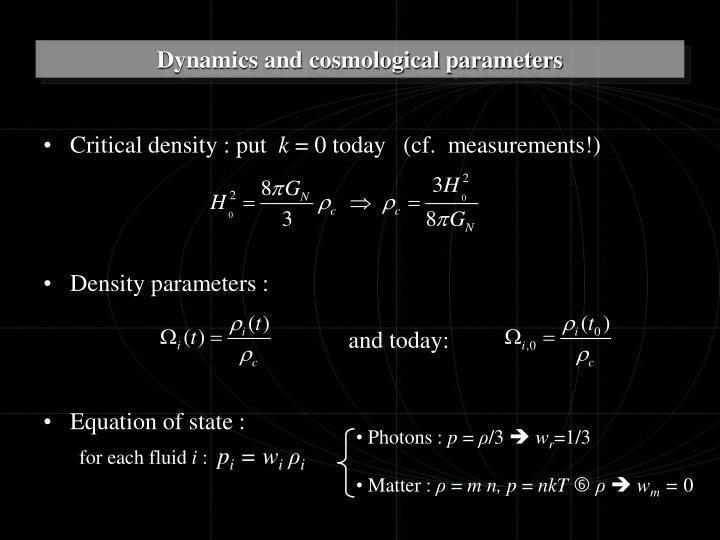 Critical density : put