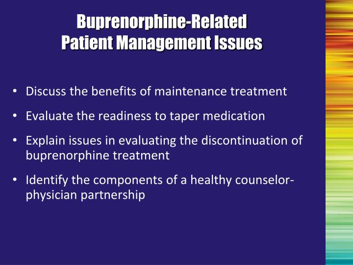 Buprenorphine-Related