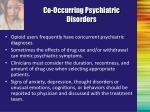 co occurring psychiatric disorders