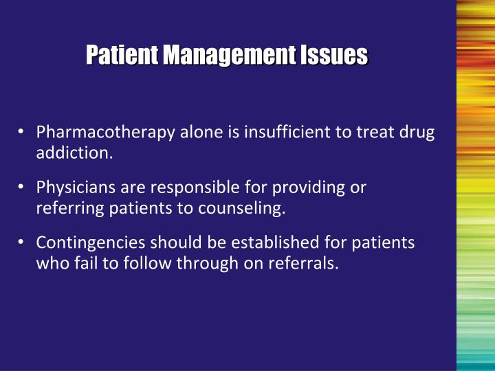 Patient Management Issues
