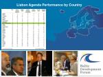 lisbon agenda performance by country