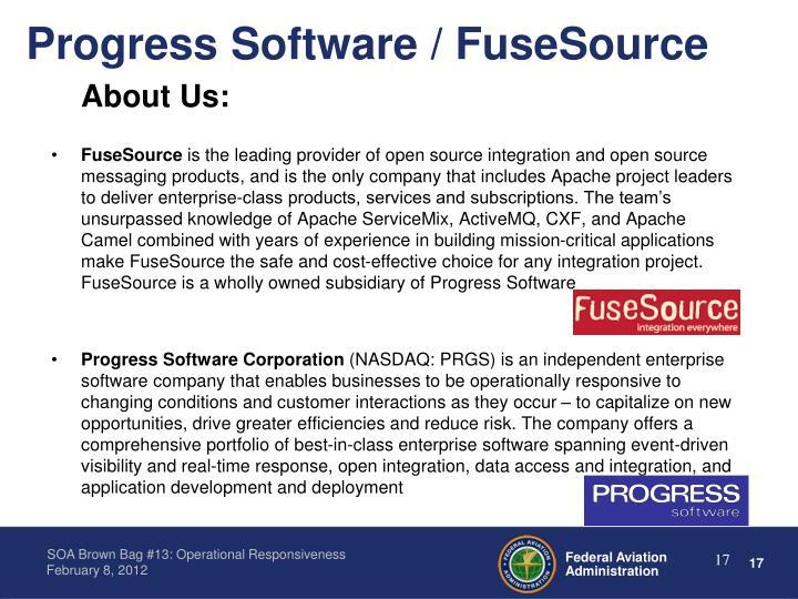 Progress Software / FuseSource