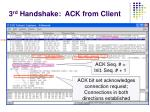 3 rd handshake ack from client