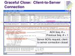 graceful close client to server connection1