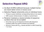 selective repeat arq