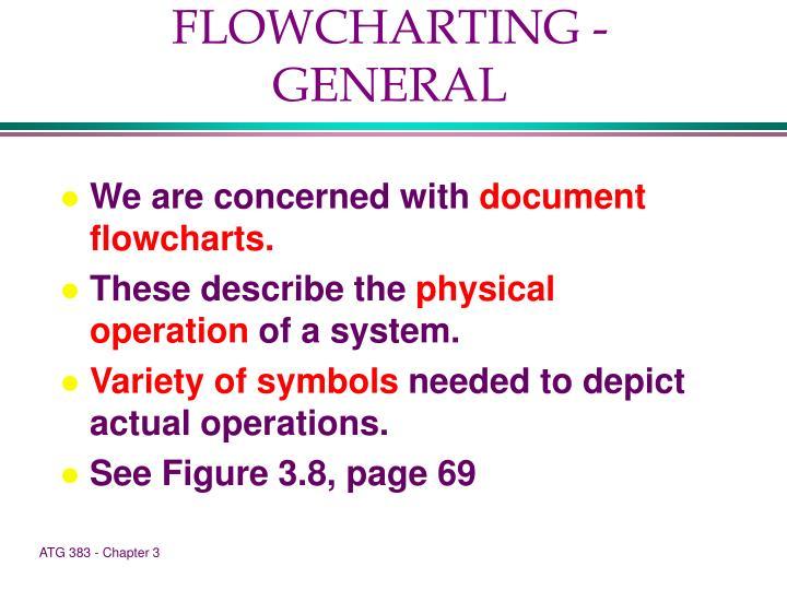 FLOWCHARTING - GENERAL