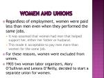 women and unions1