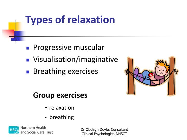Types of relaxation