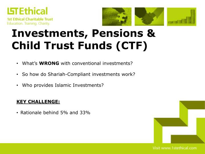 Investments, Pensions &