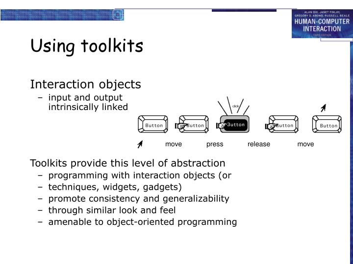 Using toolkits