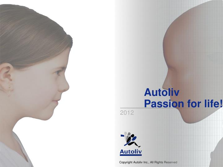 Autoliv passion for life