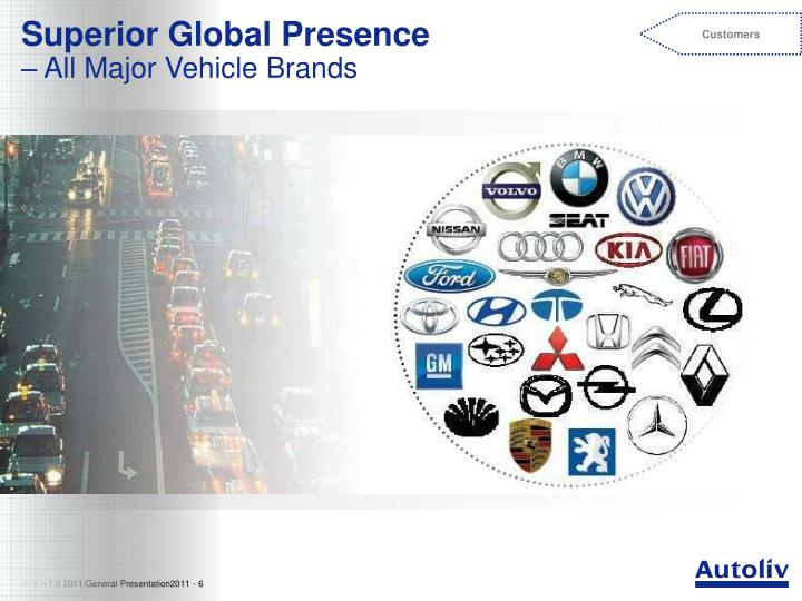 Superior Global Presence