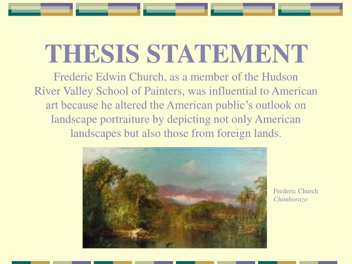 church thesis statement Have you placed statements in there which might better serve your thesis up front   we developed a thesis for our topic of the austrian catholic church and the.