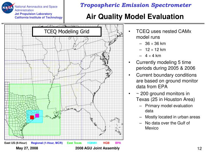 TCEQ uses nested CAMx model runs