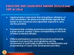executive and legislative agenda ela 3 year cdp of lgus