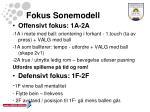 fokus sonemodell